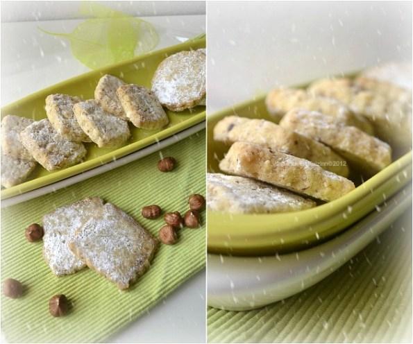 Recette des petits biscuits aux noisettes bio pour un goûter de Noël - Kaderick en Kuizinn©2012