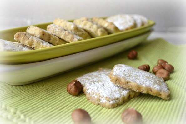 Recette des biscuits aux noisettes bio pour Noël - Kaderick en Kuizinn©2012