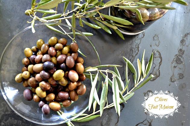 Préparation des olives vertes et noires de notre jardin en saumure fait maison - Kaderick en Kuizinn©2013