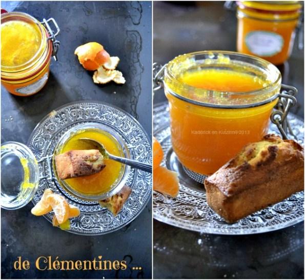 Recette de la confiture epaisse à la clémentine bio corse une merveille de gourmandise avec un gout de miel - Kaderick en Kuizinn©2013