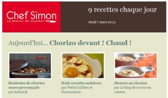 Sélection Chef Simon boulettes de chorizo à la Provençale - Kaderick en Kuizinn©