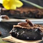 Le 200, le gâteau super fondant 100% chocolat noir et noix de pécan - Kaderick en Kuizinn©2013