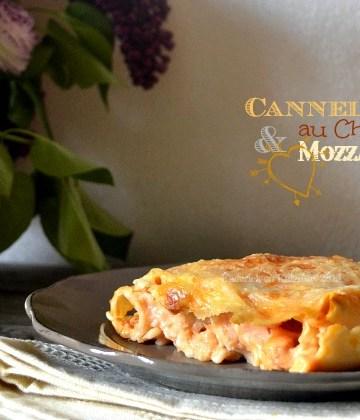 Cannelloni au chorizo & mozzarella, plat du jour sur l'ardoise ma cuisine de bistrot - Kaderick en Kuizinn©2013