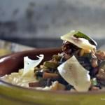 Recette risotto trois fromages & poêlée de légumes bio pour Culino Versions - Kaderick en Kuizinn©2013