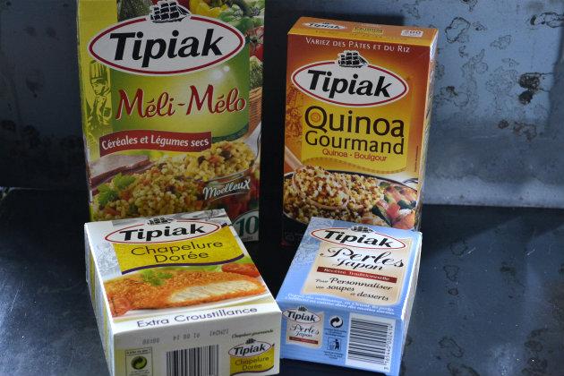 Tipiak produits offerts en partenariat avec mon blog de cuisine - Kaderick en Kuizinn©