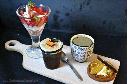 Recette du cafe gourmand avec un soufflé à la réglisse pour le thème de Culino Versions - Kaderick en Kuizinn©