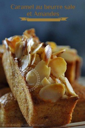 Recette facile-financier-caramel-amande-dessert