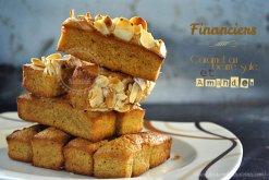 Recette de cuisine-financier-caramel-amande-goûter