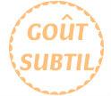 Badge huile olive gout subtil
