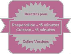 Badge de préparation et cuisson pour Culino Versions