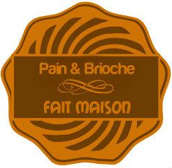 Badge recettes pain brioche fait maison