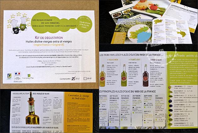 Huile d'olive du Midi de la France en bidons fer - Recette de cuisine saine et bio en partenariat