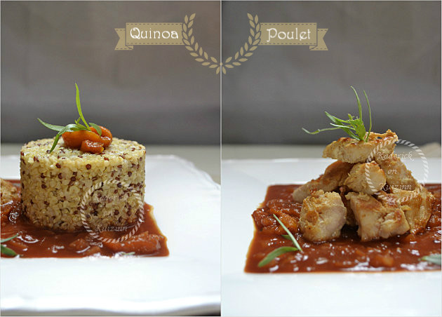 Recette saine avec du quinoa et boulgour - Recette de cuisine