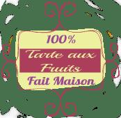 Badge tarte aux fruits fait maison - Recette de cuisine