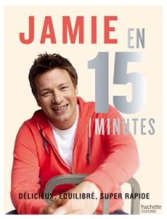 Logo livre Jamie Oliver en 15 minutes