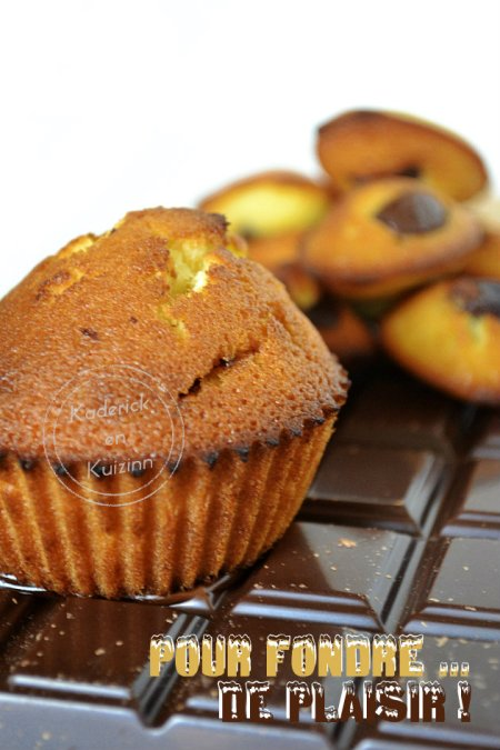 Dégustation madeleines à la vanille et chocolat noir