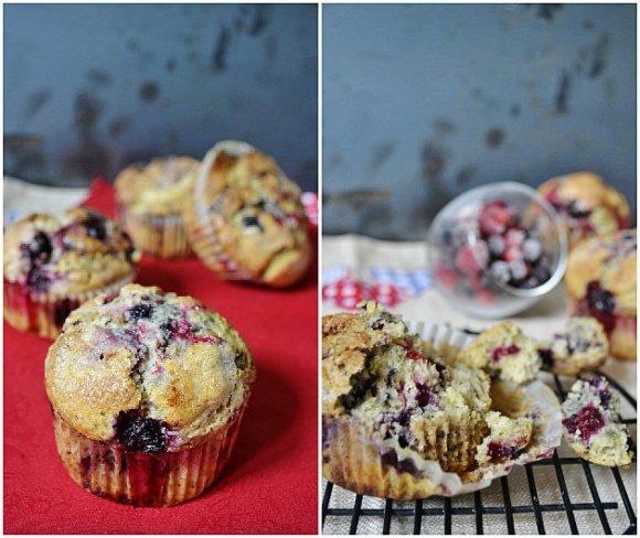 Préparation des muffins facile aux fruits rouges de Donna Hay