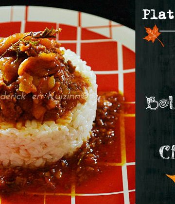 Recette du riz et poivrons à la bolognaise de chorizo