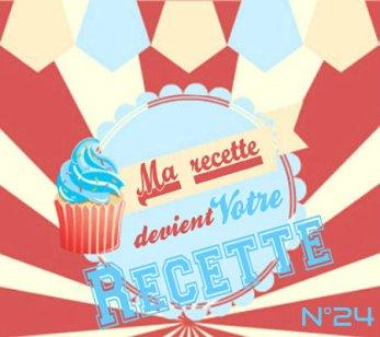 logo blog de la catégorie ma recette devient votre recette N°24