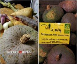 Composition de la soupe au potimarron chestnut bush bio - légumes bio