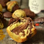 Recette madeleines tigrées chocolat et fève tonka pour Culino Versions