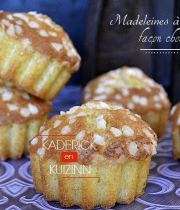 Recette des madeleines à la vanille façon chouquette