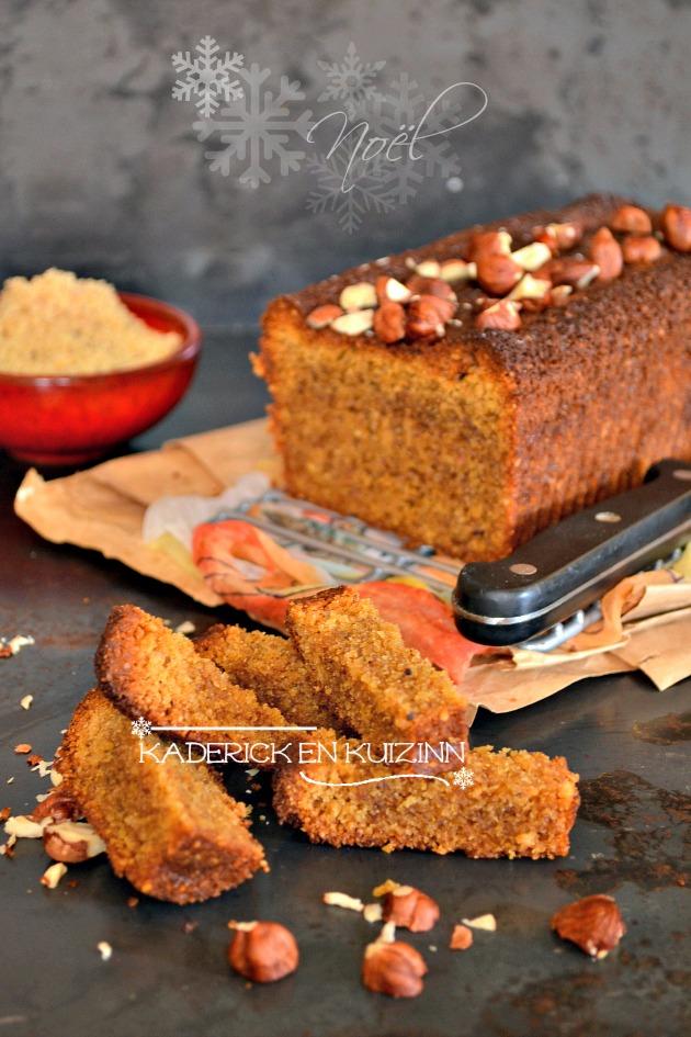 Dégustation recette facile du cake noisettes bio torréfiées et rapadura