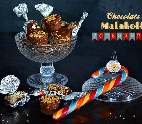 Recette chocolats Malakoff au goût de notre enfance pour offrir à Noël - cadeaux gourmands