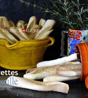 Recette des navettes de Marseille à l'anis - Recette de la chandeleur