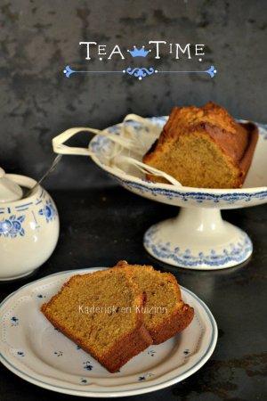 Recette de cake - recette cake vanille Papouasie, sucre rapadura et tea time