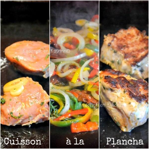 Plancha filet - Filet mignon de porc mariné à la sauce sofrito cuisson à la plancha