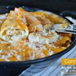 Recette cannelloni - Cannelloni aux St-Jacques, crevettes et parmesan