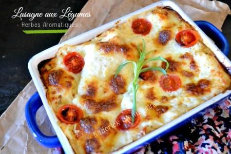 Recette lasagne de légumes à la provençale Culino Versions