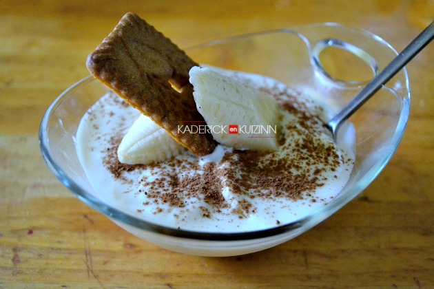 Banoffee pie - Dessert en verrine façon banoffee pie au yaourt grec
