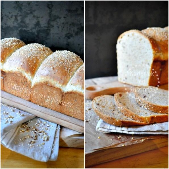 Pain complet - Recette du pain de mie complet et aux 5 céréales