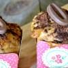 Gouter muffins - Recette muffins speculoos et double chocolat lait et noir