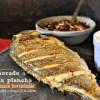Daurade plancha ou dorade grillée à la plancha sauce bordelaise