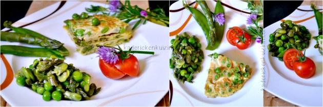 Salade chaud froid aux légumes bio