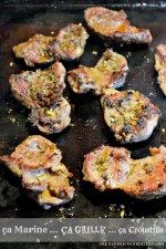 Cuisine plancha Joues porc - Recette cuisson plancha joues de porc d'épices cajun