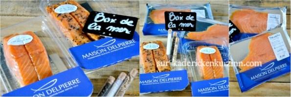 Recette choux - Éclair sucré-salé saumon fumé de Norvège Delpierre