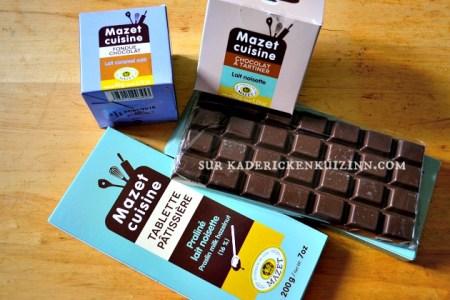 Petits flans - Recette sans gluten et sans lactose au chocolat Mazet cuisine