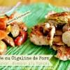 Plancha cigaline - Araignée ou cigaline de porc à la provençale