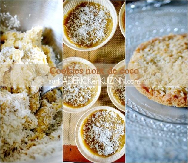 Panna cotta recette - Panna cotta cookies noix de coco et framboise