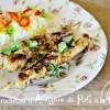 Plancha araignee - Brochette d'araignee de porc à la Toscane