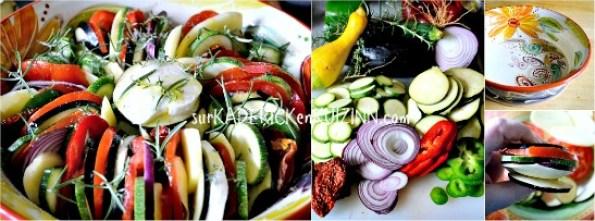 Tian provencal - Tian légumes bio aux herbes de Provence et mozzarella