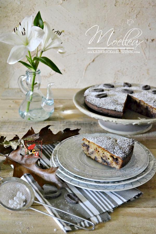 recette banane g teau moelleux chocolat banane amande. Black Bedroom Furniture Sets. Home Design Ideas