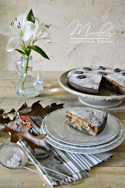 Recette banane - Gâteau moelleux au chocolat banane amande