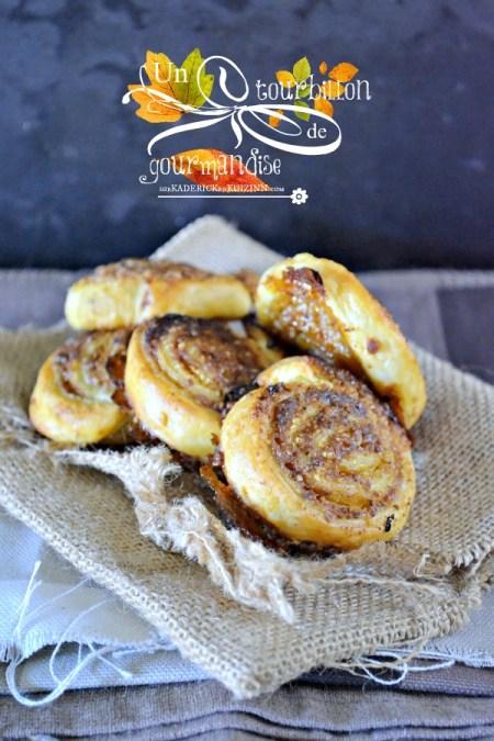 Recette spirale - Feuilleté noisette vanille tonka et sucre rapadura de Jamie