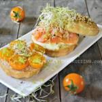 Brunch - Bundt cake saumon mozzarella et pousses d'alfalfa bio