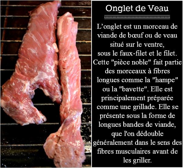 Plancha veau - Onglet de veau grillé vendangeur aux raisins et xérès